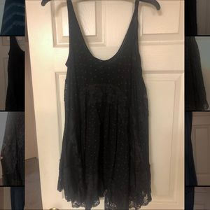 Free People Lacey Tank Long Top